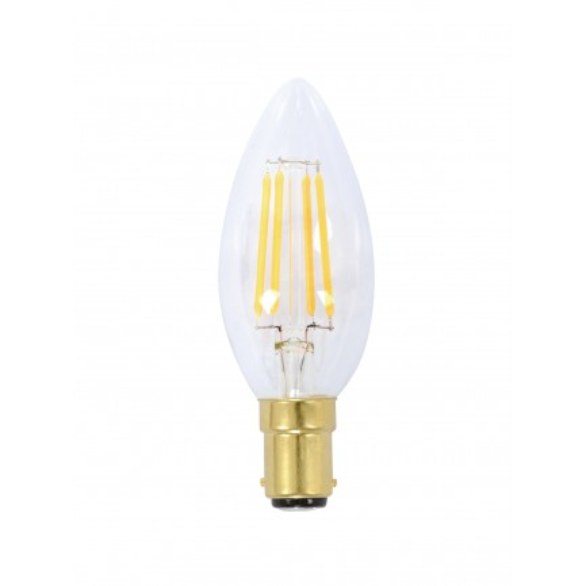 GE LED Bulb Heritage Candle 4 Watt SBC Warm White