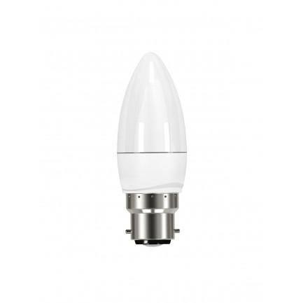 GE LED Bulb Candle 3.4 Watt BC OPAL Warm White