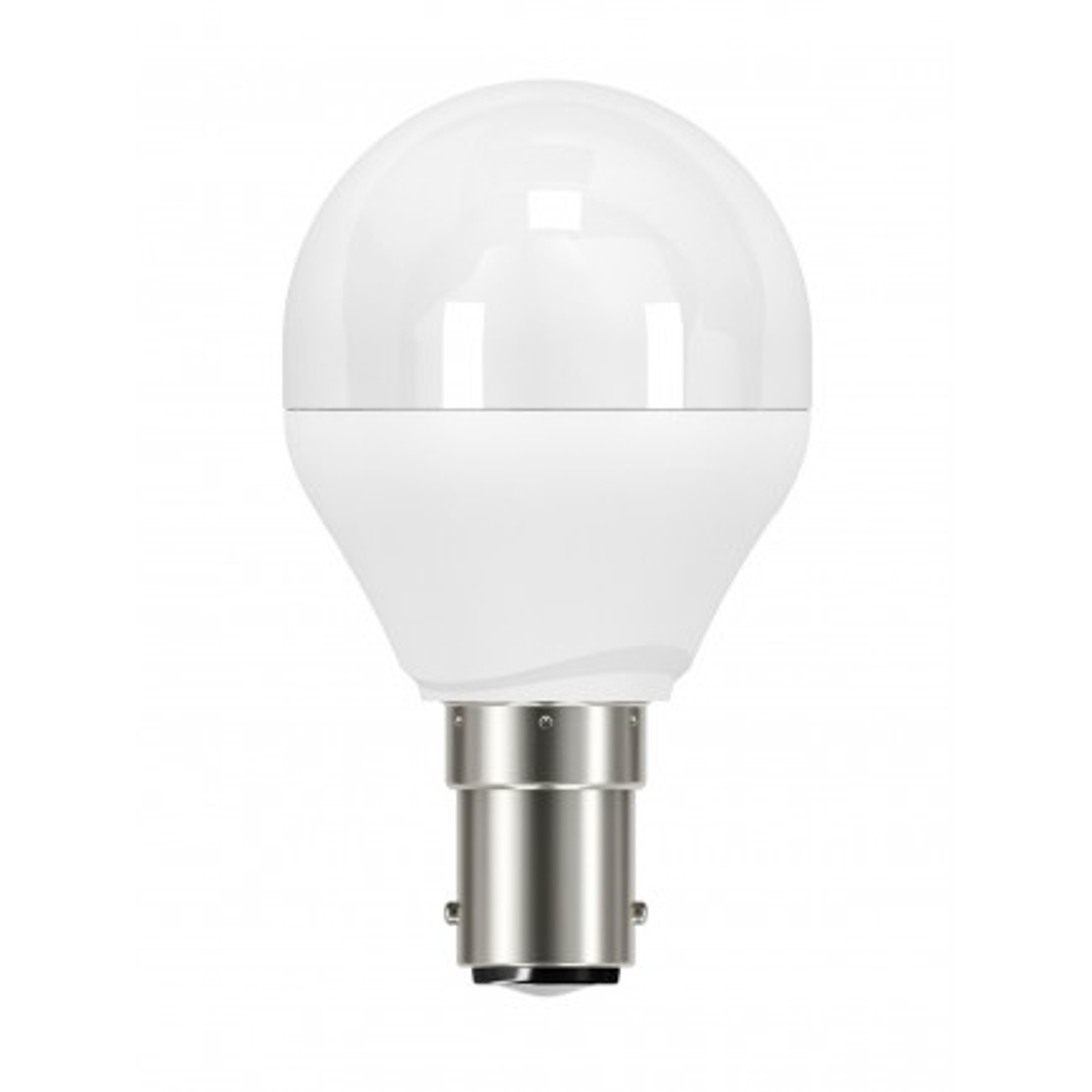 GE LED Bulb Lustre Fancy Round 6.2 Watt SBC DIM Warm White