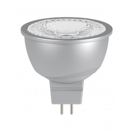 GE LED Bulb Glass MR16 6.1 Watt 60DEG Warm White
