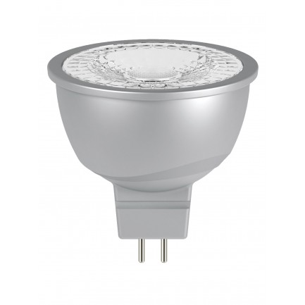 GE LED Bulb Glass MR16 6.1 Watt 60DEG Cool White