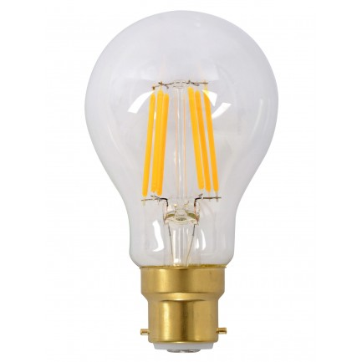 GE LED Bulb Heritage GLS 6 Watt BC Warm White