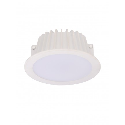 GE LED Buddy Downlight plastic DIM Warm White 8 Watt white