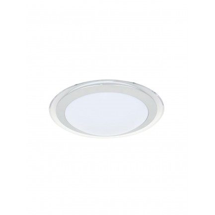 GE LED Drake Round Flush Mount Warm White 12 Watt
