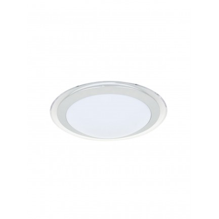 GE LED Drake Round Flush Mount Cool White 12 Watt