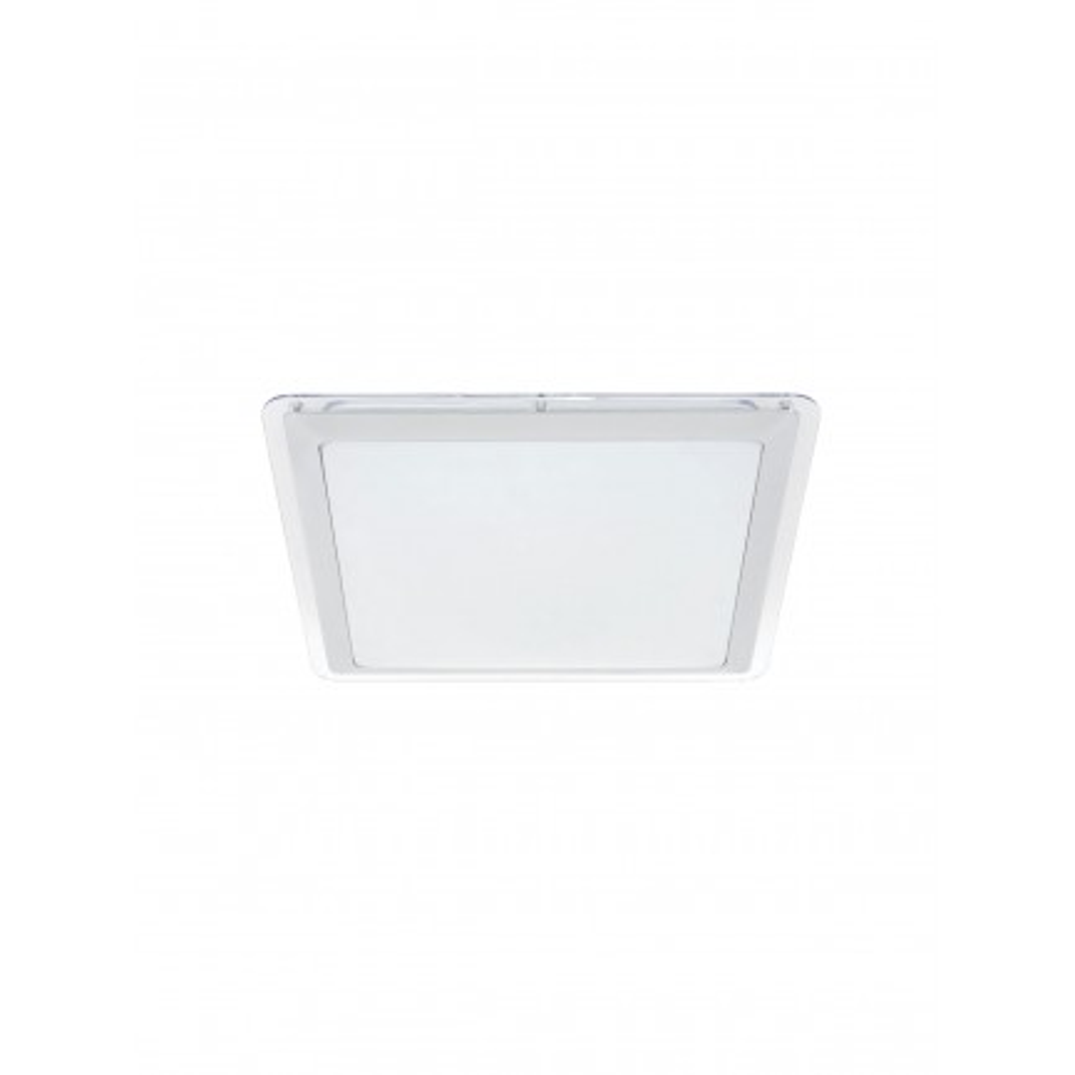 GE LED Drake Square Flush Mount Warm White 12 Watt