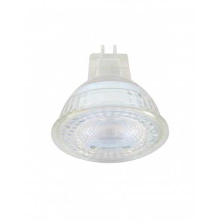 GE LED Bulb Glass MR16 5.5 Watt 36DEG Cool White