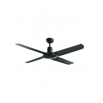 Bayside Nautilus 132cm Fan Only in Black