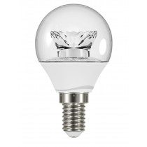 GE LED Bulb Lustre Fancy Round 3.4 Watt SES Warm White