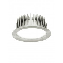 GE LED Champ Tri-Colour Downlight Aluminium DIM Warm White 10 Watt BR/CH