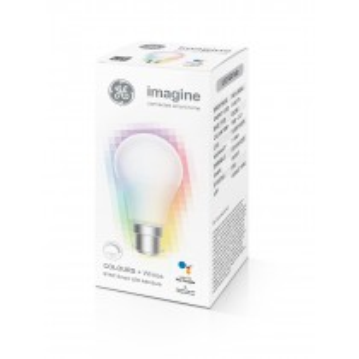 GE Imagine Sync Colours + Whites A60 B22/BC Bulb